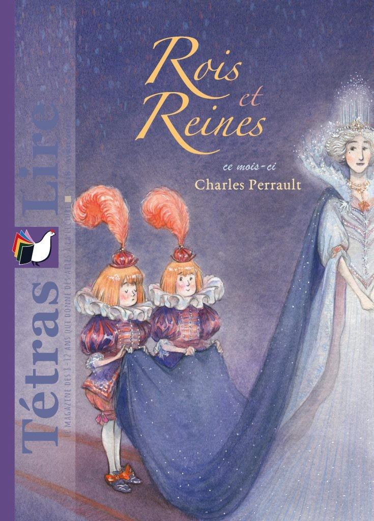 Tétras Lire - Rois et Reines (Charles Perrault)