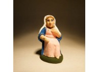 Santon - Saint Vierge- 7 cm