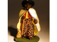 Santon - Balthazar - Roi mage - 7 cm