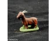 Santon - Chèvre marron - 4 cm
