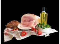 LE FEBUS BLEU - Jambon cuit supérieur de Porc Fermier Label Rouge élevé en plein air - 4 tranches (300g)