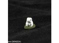 Santon - Lapin blanc - 4 cm