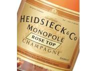 CHAMPAGNE - Heidsieck Monopole Rosé Top - 6 bouteilles de 70cl