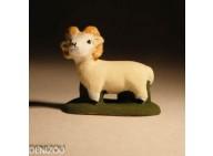 Santon - Mouton bélier - 4 cm