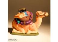 Santon - Dromadaire Harnaché -  4 cm