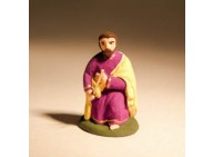 Santon - Saint Joseph - 4 cm