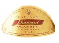 CHAMPAGNE - Vranken Diamant brut - 6 bouteilles de 70cl