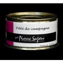 Paté de campagne - Conserve de 110g - Sajous