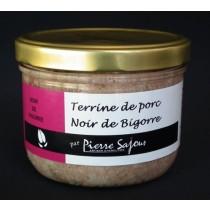 Sajous - Terrine de campagne de Porc Noir de Bigorre en verrine de 350g