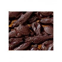 Friture de Pâques en chocolat noir en ballotin de 250 g
