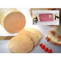 1/2 Foie gras de canard entier - Mi-Cuit au torchon