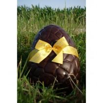 Gros Oeuf de Pâques en chocolat noir + friandises
