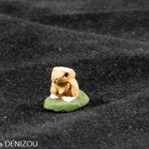 Santon - Lapin marron - 4 cm