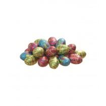 20 oeufs de Pâques pliés alu (400g)