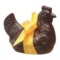 Petite Poule de Pâques en chocolat noir