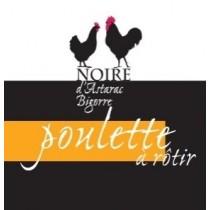 Noire d'Astarac Bigorre - Poulette à rotir