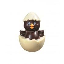 Poussin en chocolat Noir + friandises