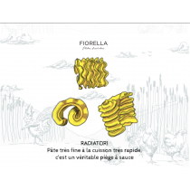Pâtes fraîches artisanales OR - Radiatori - 2,5kg