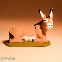 Santon - L'âne de la crèche- 4 cm