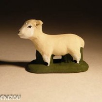 Santon - Mouton debout - 4 cm