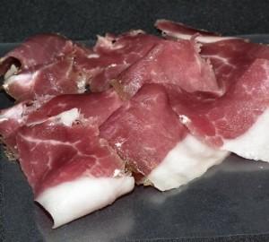 Chiffonnade de jambon de Porc Noir de Bigorre