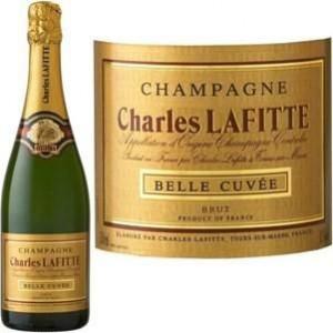 CHAMPAGNE - Charles Lafitte Brut - 6 bouteilles de 75cl