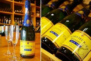 CHAMPAGNE - Heidsieck Monopole Blue Top - 6 bouteilles de 75cl