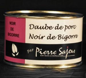 Daube de Porc Noir de Bigorre en 420g