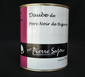 Daube de Porc Noir de Bigorre en 840g