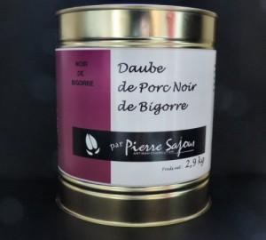 Daube de Porc Noir de Bigorre – Boîte 2,9 kg