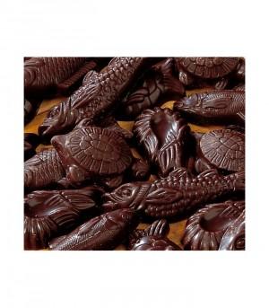 Friture de Pâques en chocolat noir en ballotin de 300 g