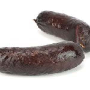 Boudin de Porc Noir de Bigorre frais