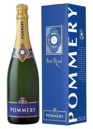 CHAMPAGNE - Pommery Brut Royal - 6 bouteilles de 75cl