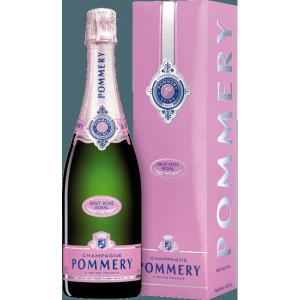 CHAMPAGNE - Pommery Rosé - 6 bouteilles de 75cl
