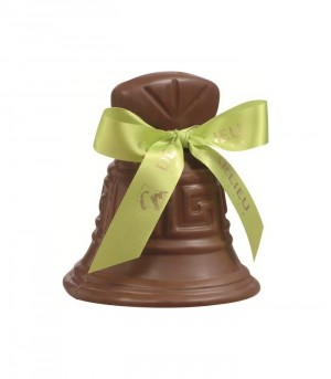 Cloche de Pâques en chocolat au lait + friandises
