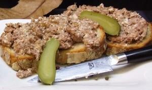 Sajous - Terrine de campagne de Porc Noir de Bigorre en conserve de 110g