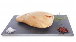 Foie gras Extra de canard fermier Label Rouge déveiné sous vide