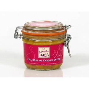 Foie gras de canard entier - Bocal de 180g
