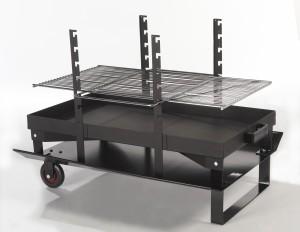 LE FEU ROULANT - Brasero Barbecue portable - Géant