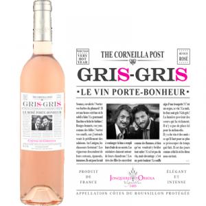 GRIS-GRIS - Le Vin Porte-Bonheur - Rosé - 3 magnums de 150 cl