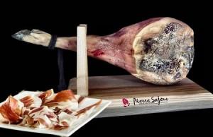 Jambon avec os de Porc Noir de Bigorre - 20 mois minimum