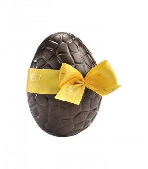 Oeuf de Pâques en chocolat Noir croustillant + friandises