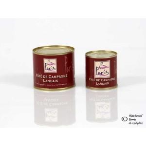 Maison Paris - Paté de campagne landais au foie gras - Conserve de 100g
