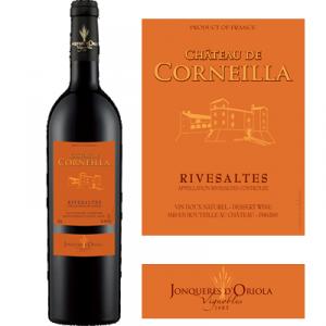 Chateau de Corneilla - Rivesaltes - 6 bouteilles de 75cl