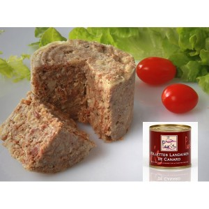 Maison Paris - Rillettes landaises au foie gras - Conserve de 100g