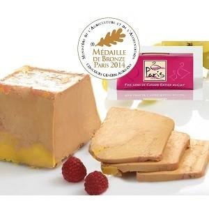 Foie gras de canard entier - Mi-Cuit - Terrine de 205 g