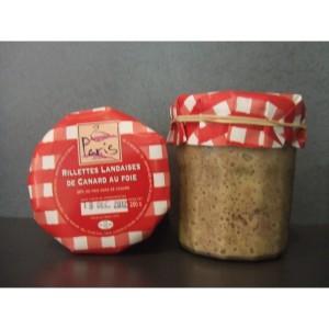 Rillettes Landaises au foie de canard des Landes(pot de 250g) - Maison Paris - Pomarez