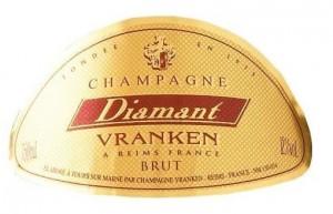 CHAMPAGNE - Vranken Diamant brut - 6 bouteilles de 75cl